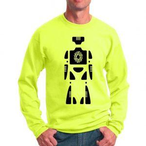 Psychedelic Robot Sweatshirt