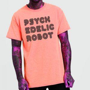 Psychedelic Robot 2.0 Logo T-Shirt
