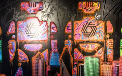 New Psychedelic Robot Exhibit Serves Dallas Another Round of Selfies