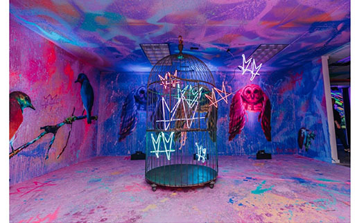 Immersive Pop-Up Psychedelic Robot Returns to The Crescent