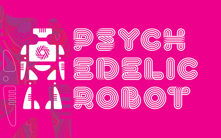 Immersive Art Experience in Dallas | Psychedelic Robot